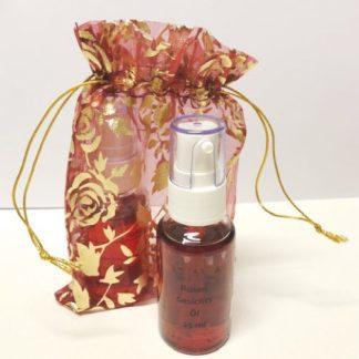 Entspannungs-Set mit Lavendel Kopfmassageöl und Rosen Gesichtsöl
